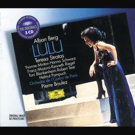 LULU W/TERESA STRATAS, YVONNE MINTON, ORCH.L'OPERA DE PARIS Audio CD, A. BERG, CD