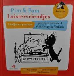 Pim & Pom Luistervriendjes .. LUISTERVRIENDJES // BOEK + CD liedjes en praatjes, AUDIOBOOK, Book, misc