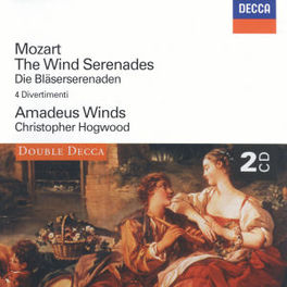 WIND SERENADES W/AMADEUS WINDS, CHRISTOPHER HOGWOOD W.A. MOZART, CD