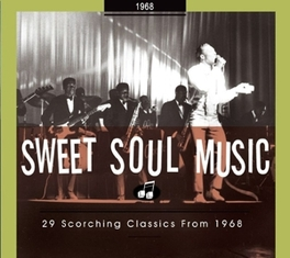 SWEET SOUL MUSIC 1968 29 SCORCHING CLASSICS//INCL.96PG. BOOKLET Audio CD, V/A, CD