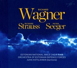 OPERA CHORUSES ESTONIAN MALE CHOIR/P.SAAN WAGNER/STRAUSS/SEEGER, CD