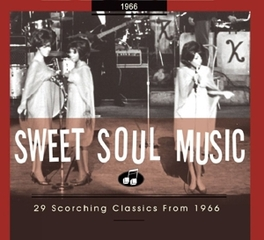 SWEET SOUL MUSIC 1966 29 SCORCHING CLASSICS//INCL.88PG. BOOKLET Audio CD, V/A, CD