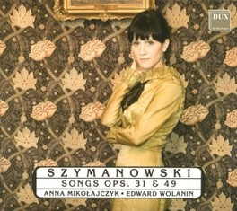 SONGS Audio CD, KAROL SZYMANOWSKI, CD