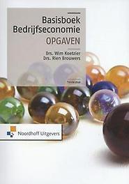 Basisboek bedrijfseconomie Wim Koetzier, Paperback