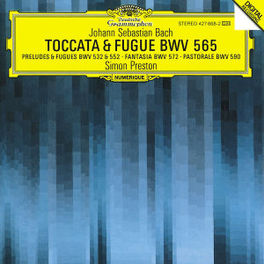 TOCCATA & FUGUE BWV 565 PRESTON, S Audio CD, J.S. BACH, CD