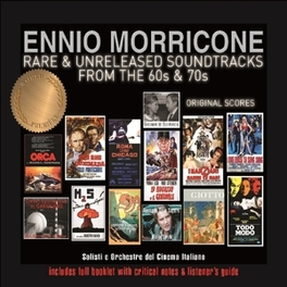 RARE & UNRELEASED.. .. SOUNDTRACKS ENNIO MORRICONE, CD
