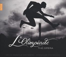 L'OLIMPIADE WORKS BY VIVALDI/CIMAROSA/PERGOLESI...//M.CHRYSSICOS VENICE BAROQUE ORCHESTRA, CD