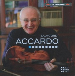 ACCARDO *BOX* WORKS BY PAGANINI/CHAUSSON/DVORAK/VERDI/GINASTERA/ROLLA SALVATORE ACCARDO, CD