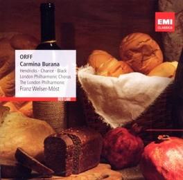 CARMINA BURANA FRANZ WELSER-MOST C. ORFF, CD