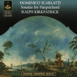 53 SONATAS FOR HARPSICHOR RALPH KIRKPATRICK Audio CD, D. SCARLATTI, CD