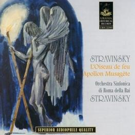 APOLLON MUSAGETE ORCH.SINF.DELLA RAI/IGOR STRAVINSKY Audio CD, I. STRAVINSKY, CD