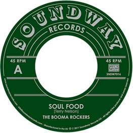 7-SOUL FOOD / BOOMA WOMAN WORLD, FUNK, SOUL BOOMA ROCKERS, SINGLE