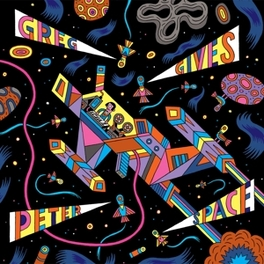 GREG GIVES PETER SPACE LP + DOWNLOAD GREG GIVES PETER SPACE, 12' Vinyl