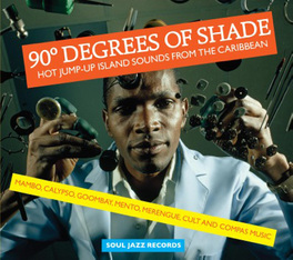 90 DEGREES OF SHADE VOL.1 * HOT JUMP-UP ISLAND SOUNDS FROM THE CARIBBEAN * V/A, Vinyl LP