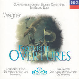 FAVOURITE OVERTURES W/WIENER PHILHARMONIKER, CHICAGO SYMPHONY ORCHESTRA, SO Audio CD, R. WAGNER, CD