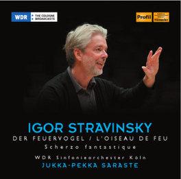 L'OISEAU DE FEU/SCHERZO F WDR S.O.KOLN/JUKKA-PEKKA SARASTE I. STRAVINSKY, CD