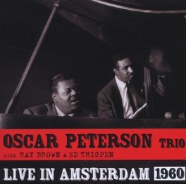 LIVE IN AMSTERDAM 1960 PETERSON, OSCAR -TRIO-, CD
