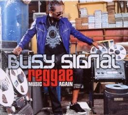 REGGAE MUSIC AGAIN BUSY SIGNAL, CD