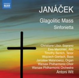 GLAGOLITIC MASS/SINFONIET WARSAW P.O./ANTONI WIT L. JANACEK, CD