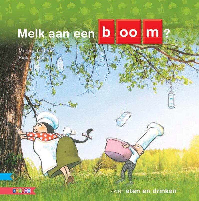 Melk aan een boom