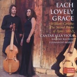 EACH LOVELY GRACE CANTAR ALLA VIOLA W. CORKINE, CD