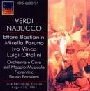 NABUCCO MAGGIO MUSICALE FIORENTINO/BARTOLETTI