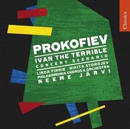 IVAN THE TERRIBLE:CONCERT PHILHARMONIA ORCHESTRA/JARVI Audio CD, S. PROKOFIEV, CD