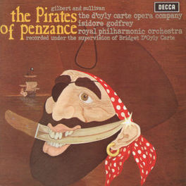PIRATES OF PENZANCE D'OYLY CARTE OPERA COMPANY Audio CD, GILBERT & SULLIVAN, CD