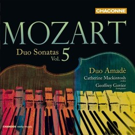 DUO SONTAS VOL.5 DUO AMADE W.A. MOZART, CD