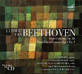 PIANO TRIO OP.1 NO.3 OBORIN/OISTRAKH/KNUSHEVITSKY//M.SARGENT L. VAN BEETHOVEN, CD