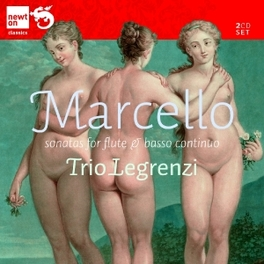 SONATAS FOR FLUTE & BASSO TRIO LEGRENZI B. MARCELLO, CD