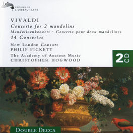 CONCERT FOR 2 MANDOLINS ACADEMY OF ANCIENT MUSIC/CHRISTOPHER HOGWOOD Audio CD, A. VIVALDI, CD