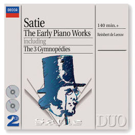 EARLY PIANO WORKS W/DE LEEUW Audio CD, E. SATIE, CD
