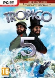 PC DVD Tropico 5 Limited Day One Edition