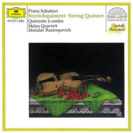STRINGQUINTET D 956 MELOS KWARTET/ROSTROPOVICH Audio CD, F. SCHUBERT, CD