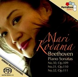 PIANO SONATAS OP.30-32 MARI KODAMA L. VAN BEETHOVEN, CD