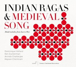 INDIAN RAGAS & MEDIEVAL S VELLARD/CHATTERJEE/CHEMIR, CD
