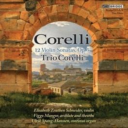 VIOLIN SONATAS OP.5 TRIO CORELLI A. CORELLI, CD