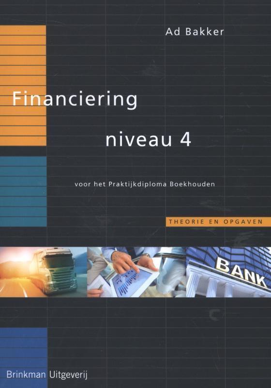 Financiering: Niveau 4 Bakker, Ad, Paperback
