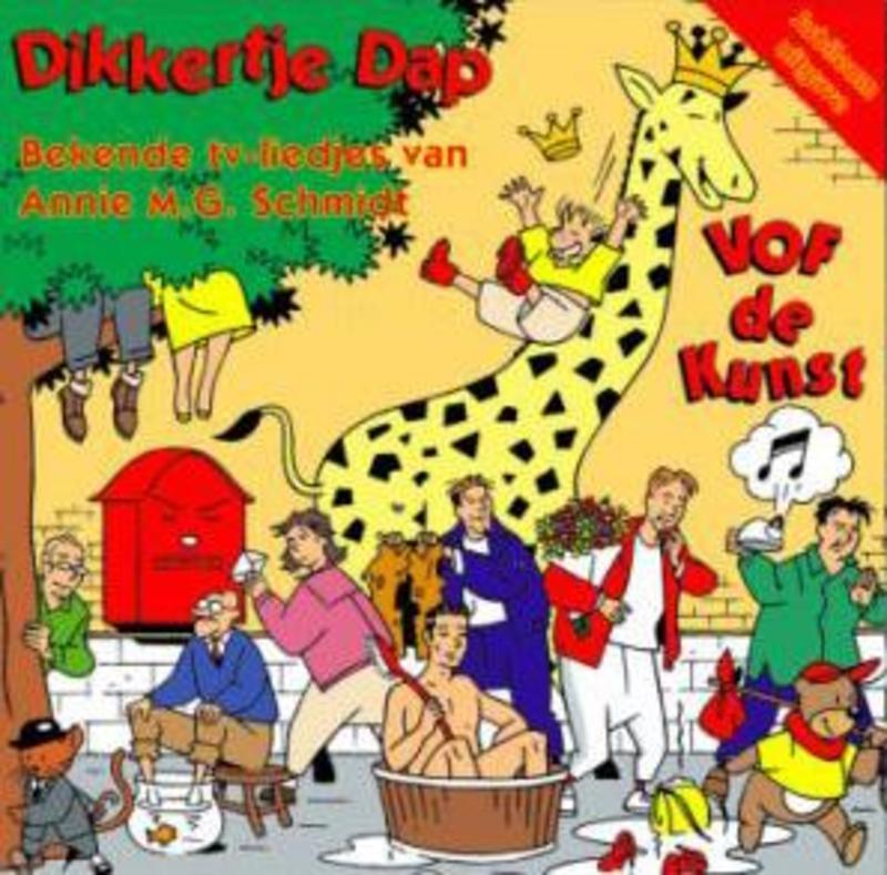 DIKKERTJE DAP Audio CD, VOF DE KUNST, CD