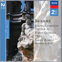 STRING QUARTETS/PIANO QUI TAKACS QUARTET Audio CD, J. BRAHMS, CD