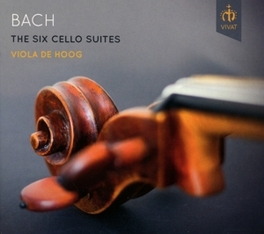 SIX CELLO SUITES VIOLA DE HOOG J.S. BACH, CD