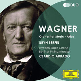 ORCHESTRAL MUSIC/ARIAS BRYN TERFEL/ABBADO/BERLIN PHILHARMONIKER R. WAGNER, Audio Visuele Media