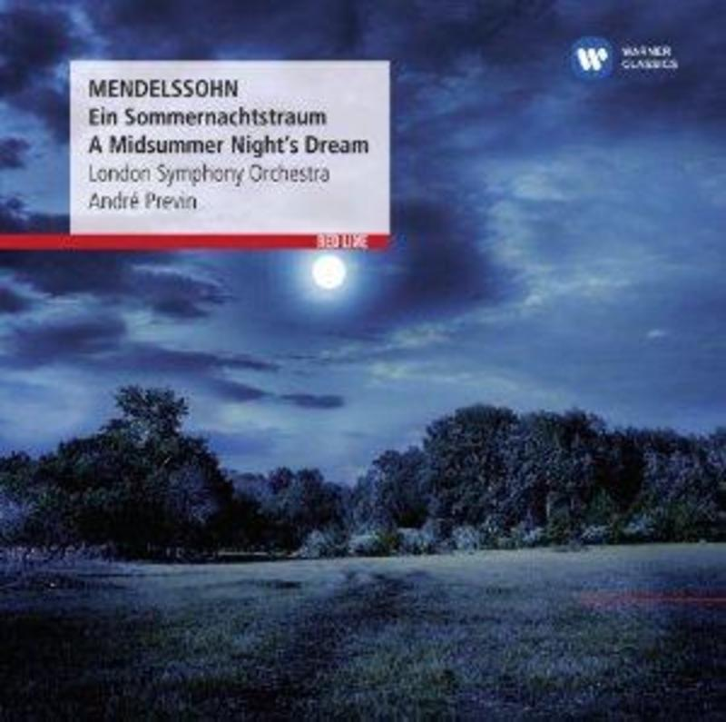 A MIDSUMMER NIGHT'S DREAM ANDRE PREVIN MENDELSSOHN-BARTHOLDY, F., Audio Visuele Media
