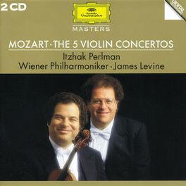 VIOLIN CONCERT PERLMANN/LEVINE Audio CD, W.A. MOZART, CD
