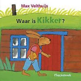 Waar is Kikker? flapjesboek, Max Velthuijs, Hardcover