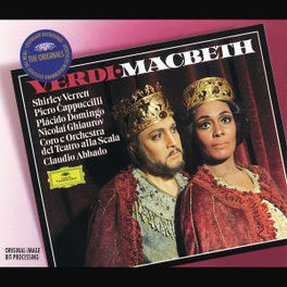 MACBETH W/CLAUDIO ABBADO, SHIRLEY VERRETT, PLACIDO DOMINGO Audio CD, G. VERDI, CD