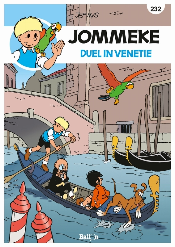 JOMMEKE 232. DUEL IN VENETIE JOMMEKE, Nys, Jef, Paperback