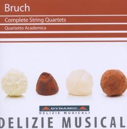 COMPLETE STRING QUARTETS QUARTETTO ACADEMIA M. BRUCH, CD