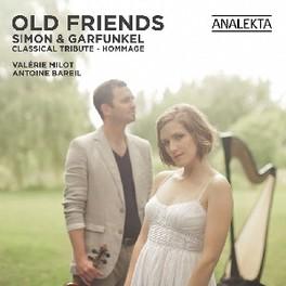 OLD FRIENDS VALERIE MILOT/ANTOINE BAREIL SIMON & GARFUNKEL, CD